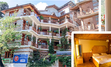Best Family Hotels In Manali near mall road